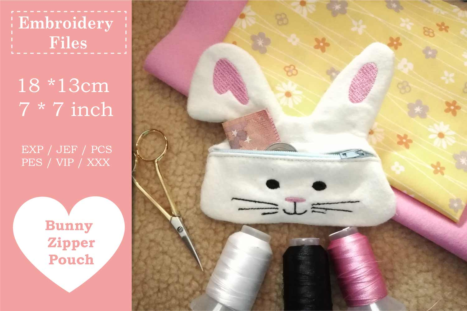 ITH Easter Bundle - Machine Embroidery Files - 10 Projects example image 16