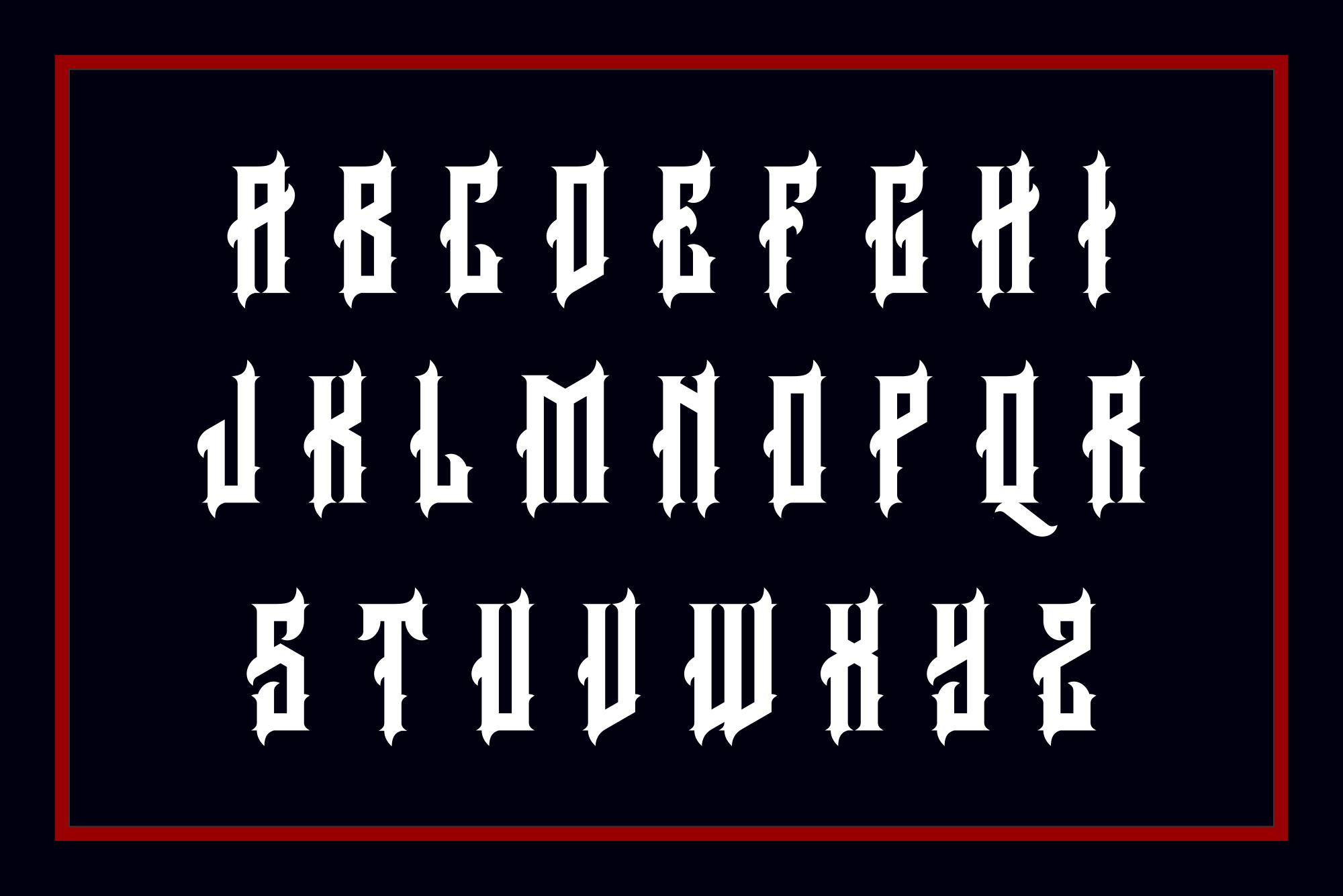 Arcana Typeface example image 2
