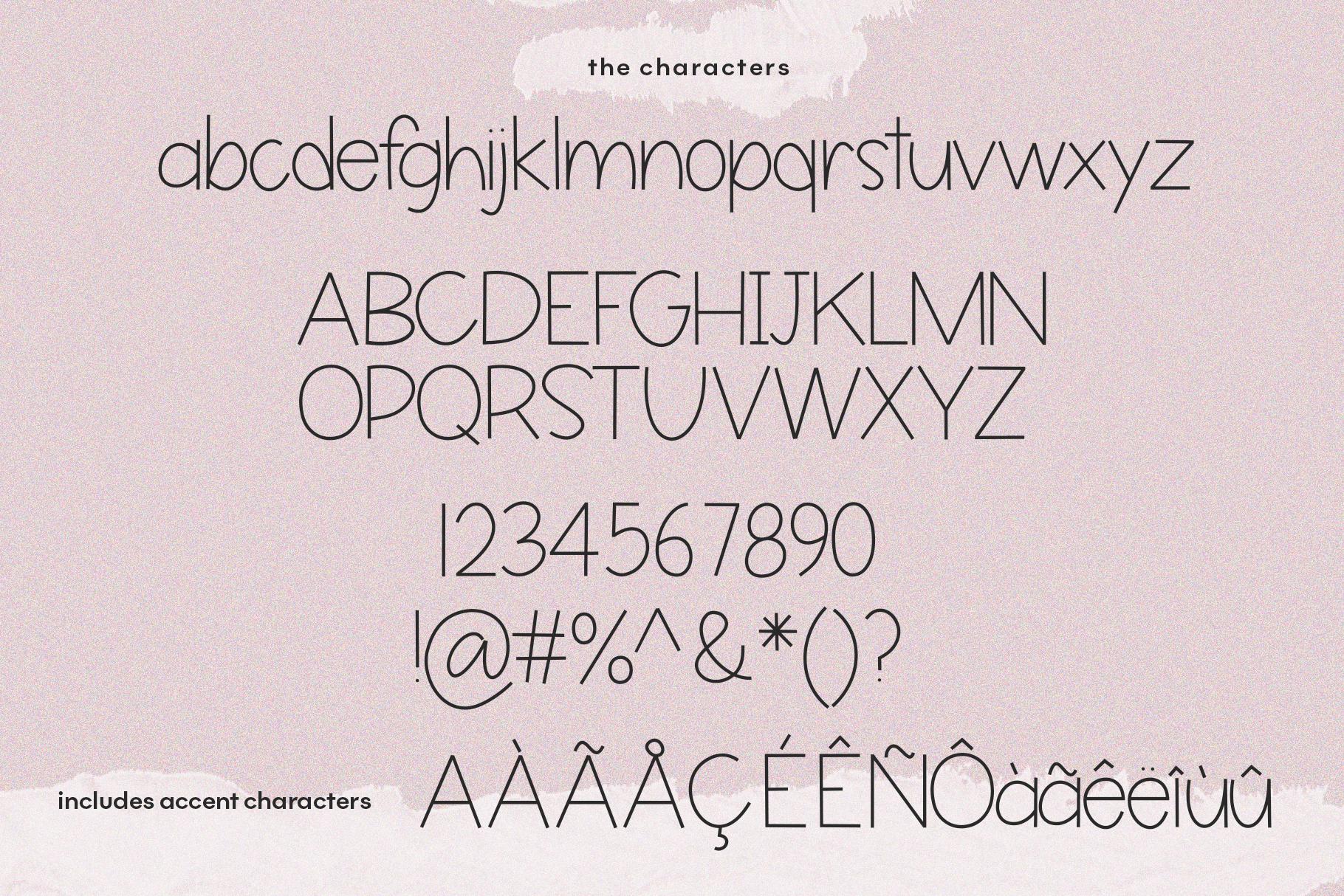 Butterflies - A Thin Handwritten Font example image 8