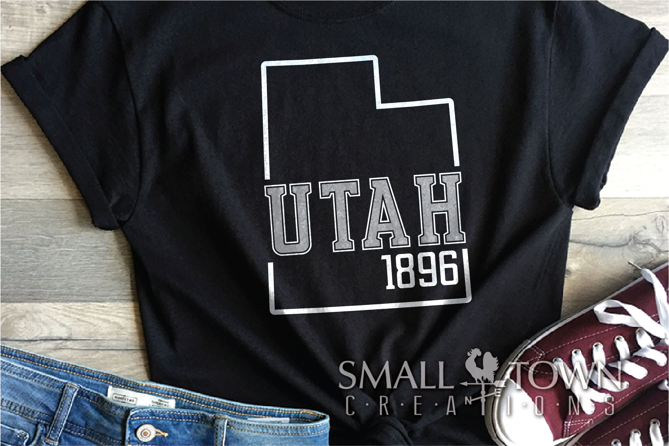 Utah,This is the Place - slogan, PRINT, CUT & DESIGN example image 6