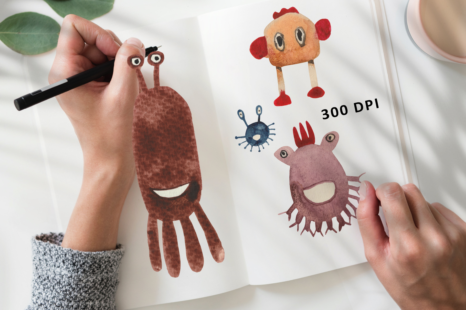 Funny Monsters example image 11