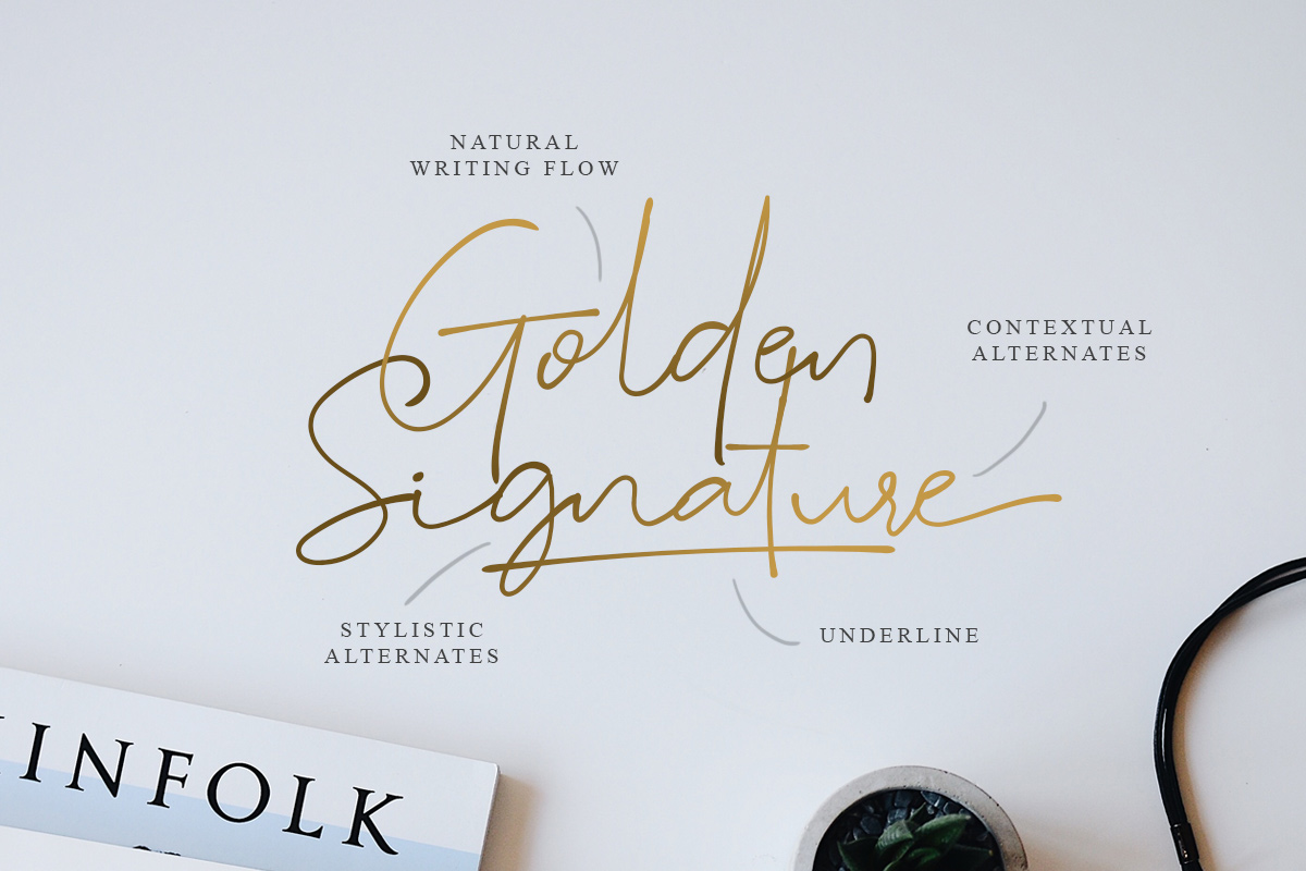 Suddenly - Signature Script example image 1