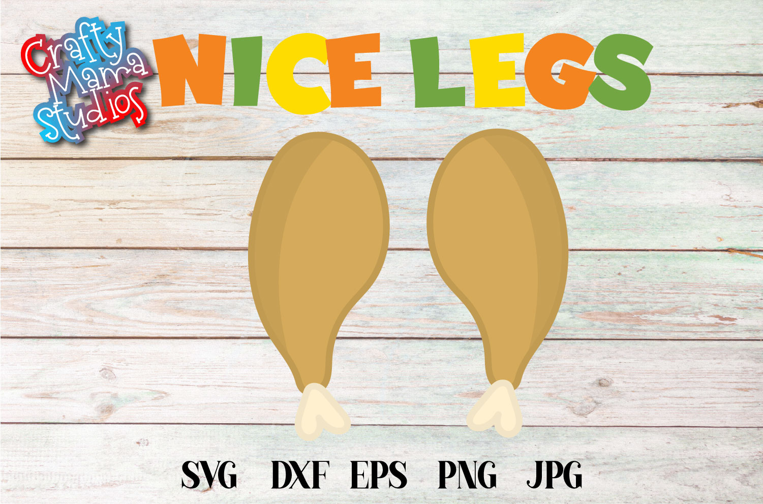 Thanksgiving SVG, Nice Legs SVG Sublimation, Kid's Funny example image 2