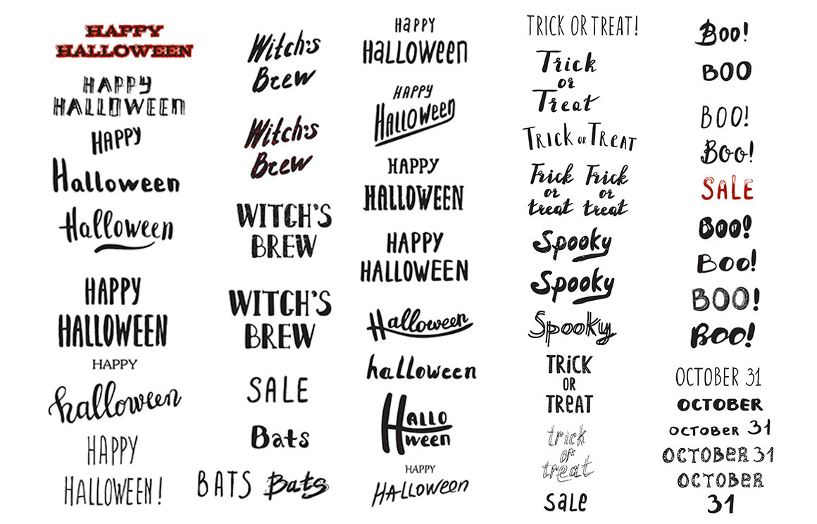50 OFF Halloween Vintage Collection example image 10
