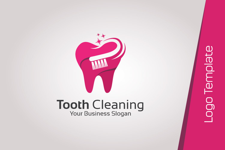 Dental Logo Template - Tooth Cleaning example image 4