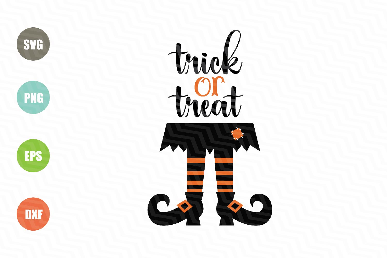 Trick or Treat Svg File, Halloween Svg example image 1