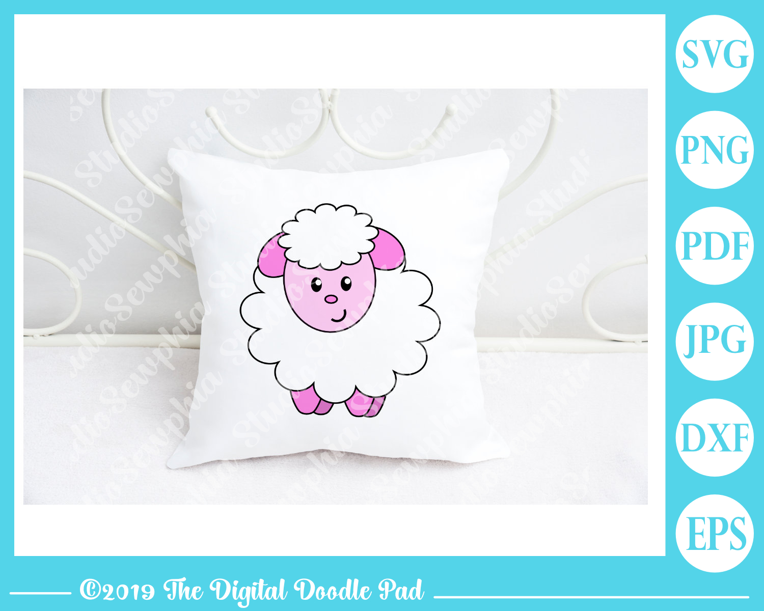 Little Lamb by Digital Doodle Pad example image 4