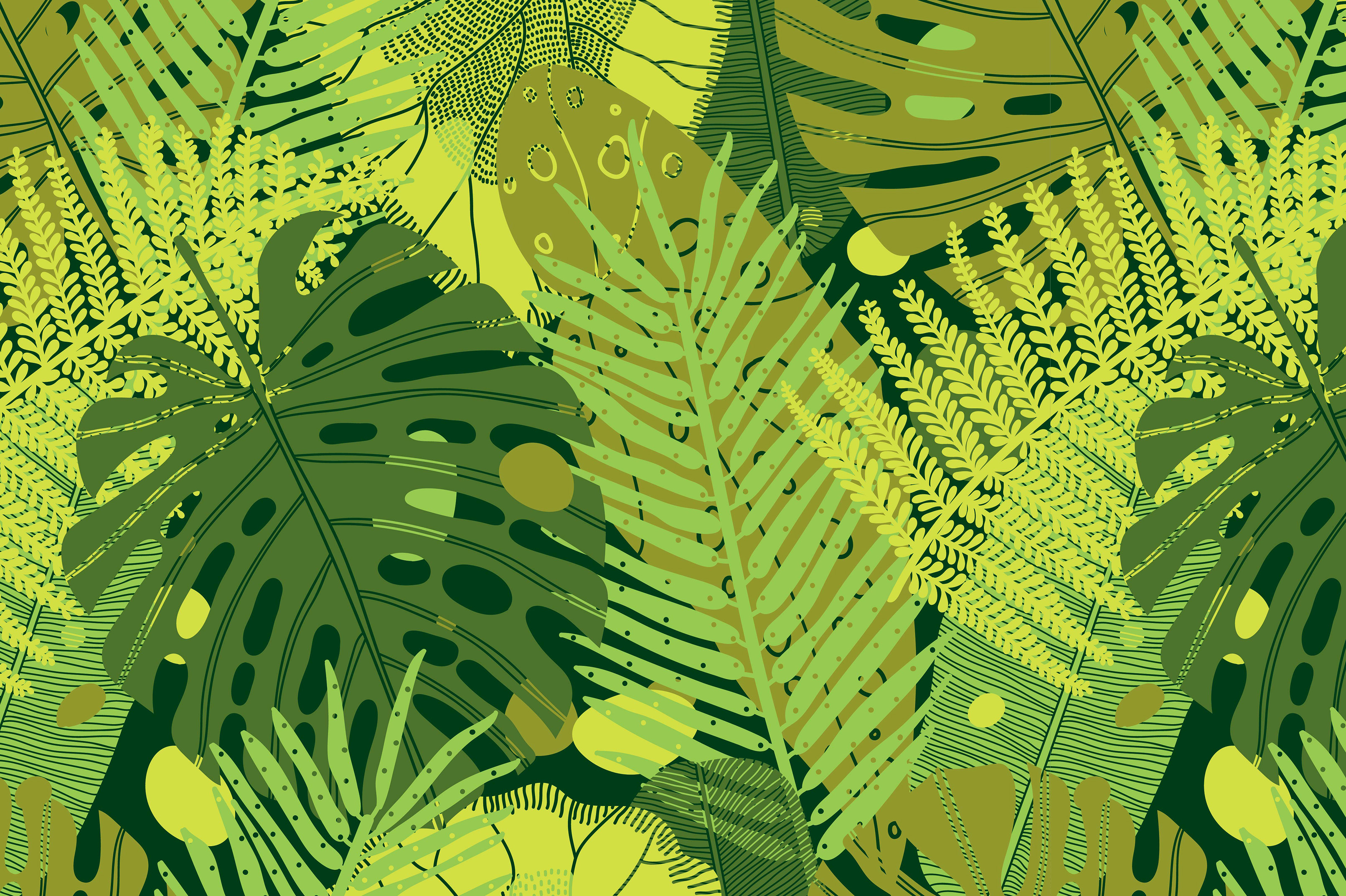 Exotic leaf. Summer mood. example image 6