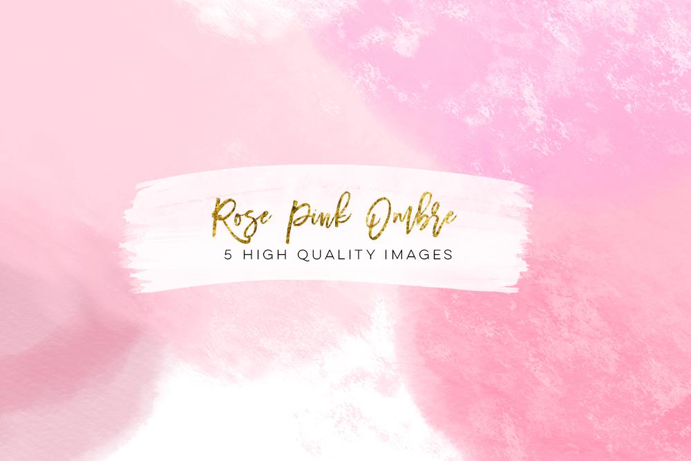 rose gold paper watercolor digital paper, Rose gold Scrapbook Paper, gradient watercolor digital paper, ombre gold rose pink texture digital example image 2
