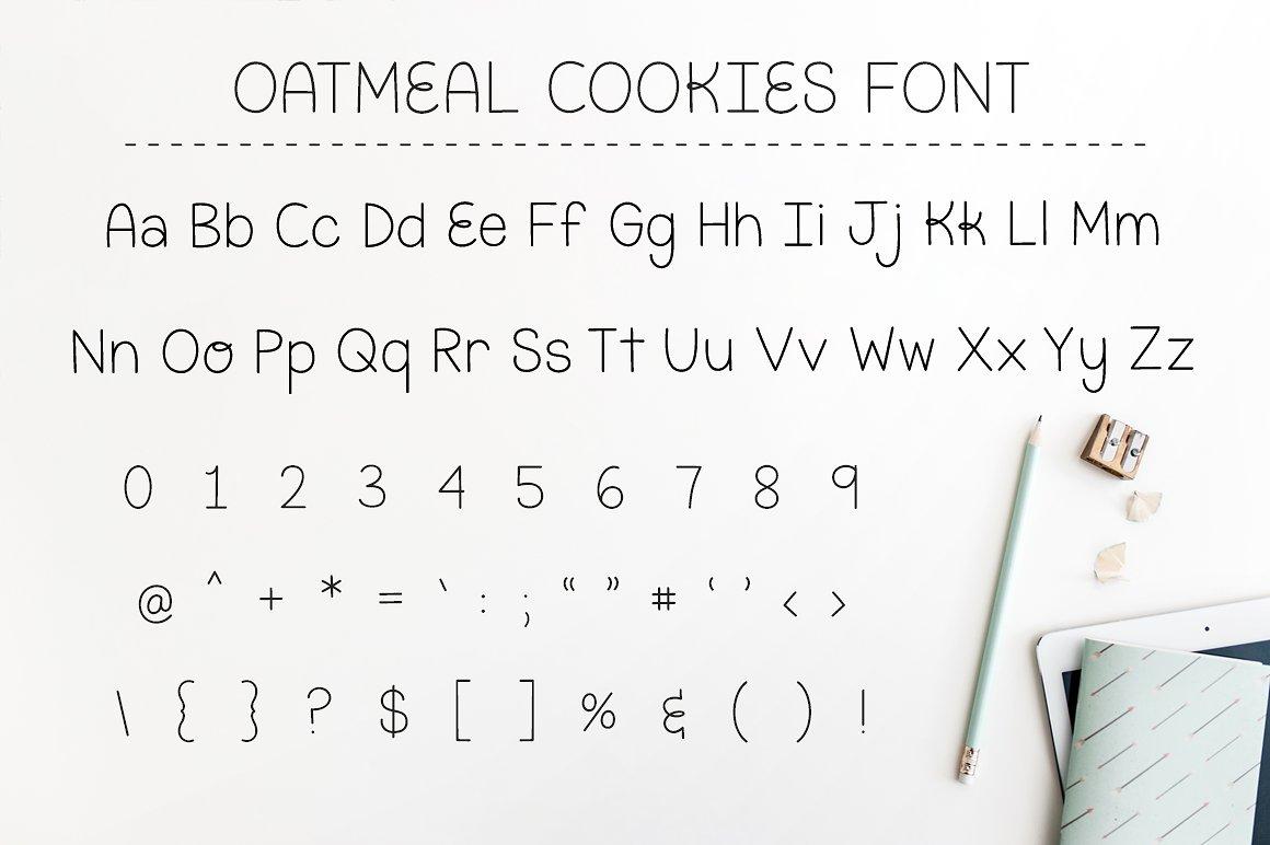 Oatmeal Cookies example image 2