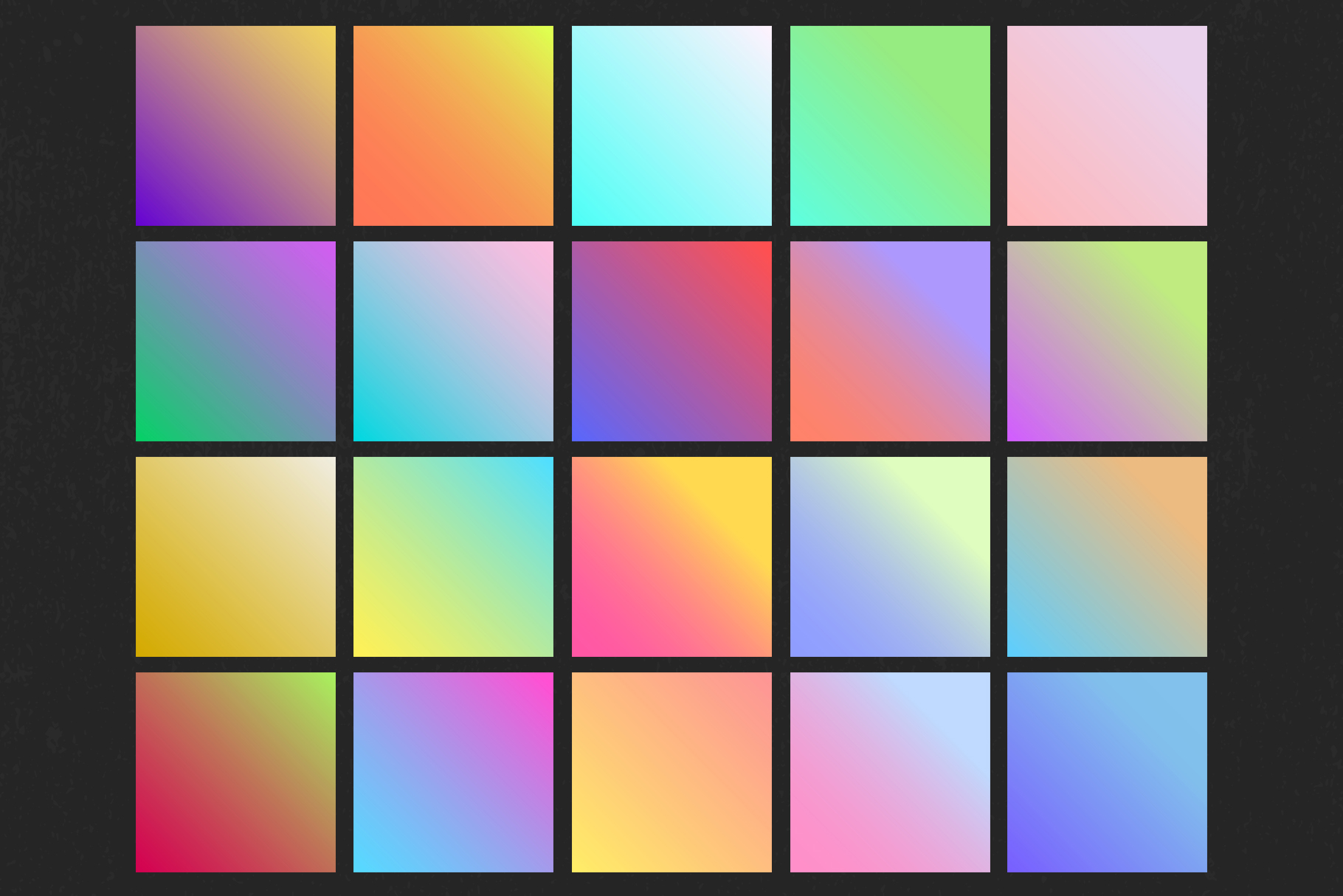 Holographic gradient life example image 3