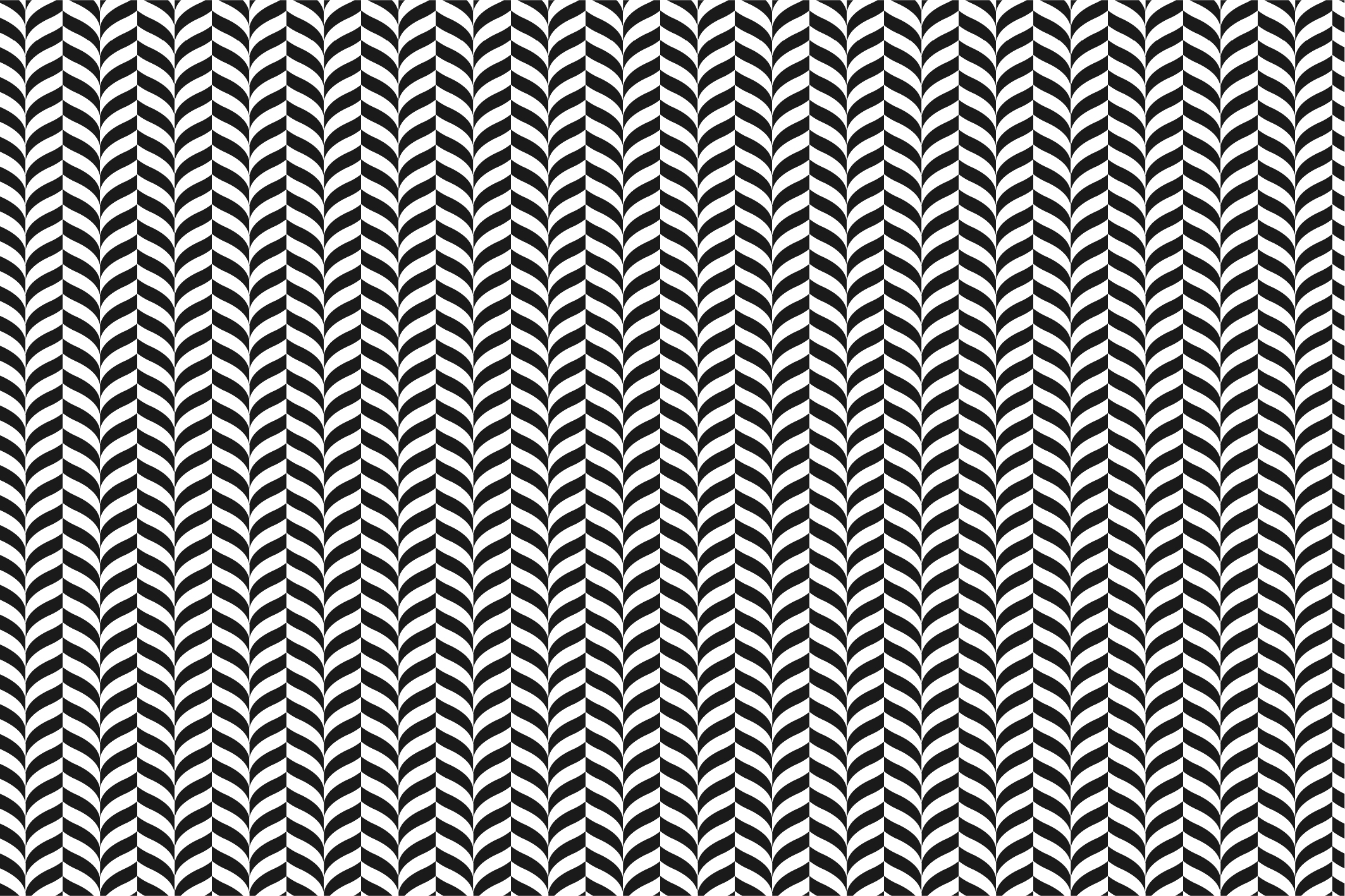 Geometric seamless patterns. B&W. example image 3