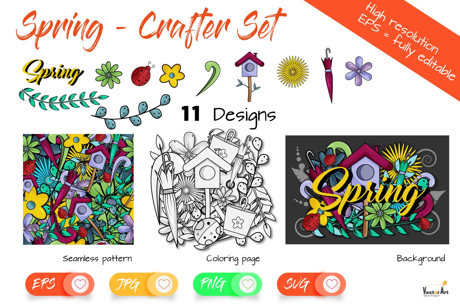 Spring Bundle - For Crafters example image 1