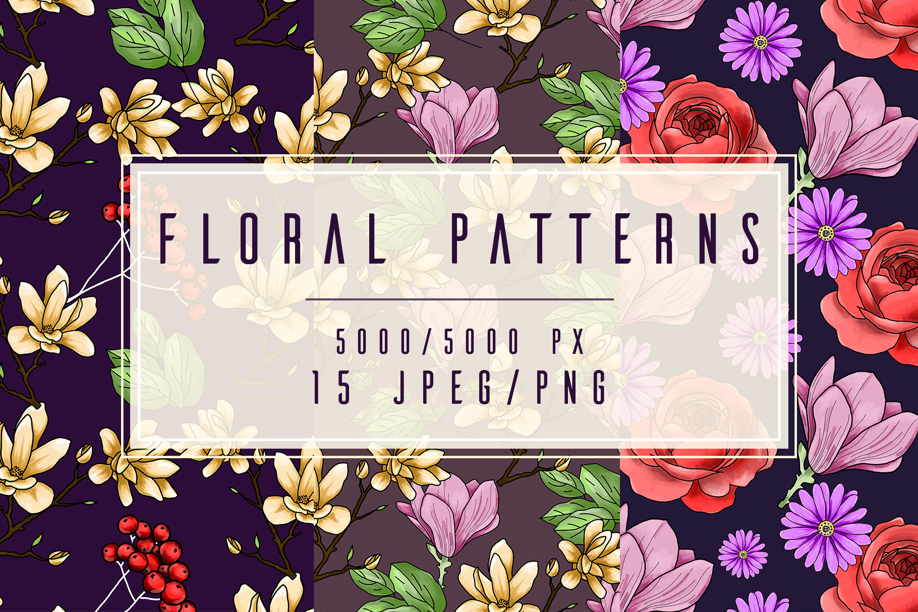 Floral Patterns example image 1