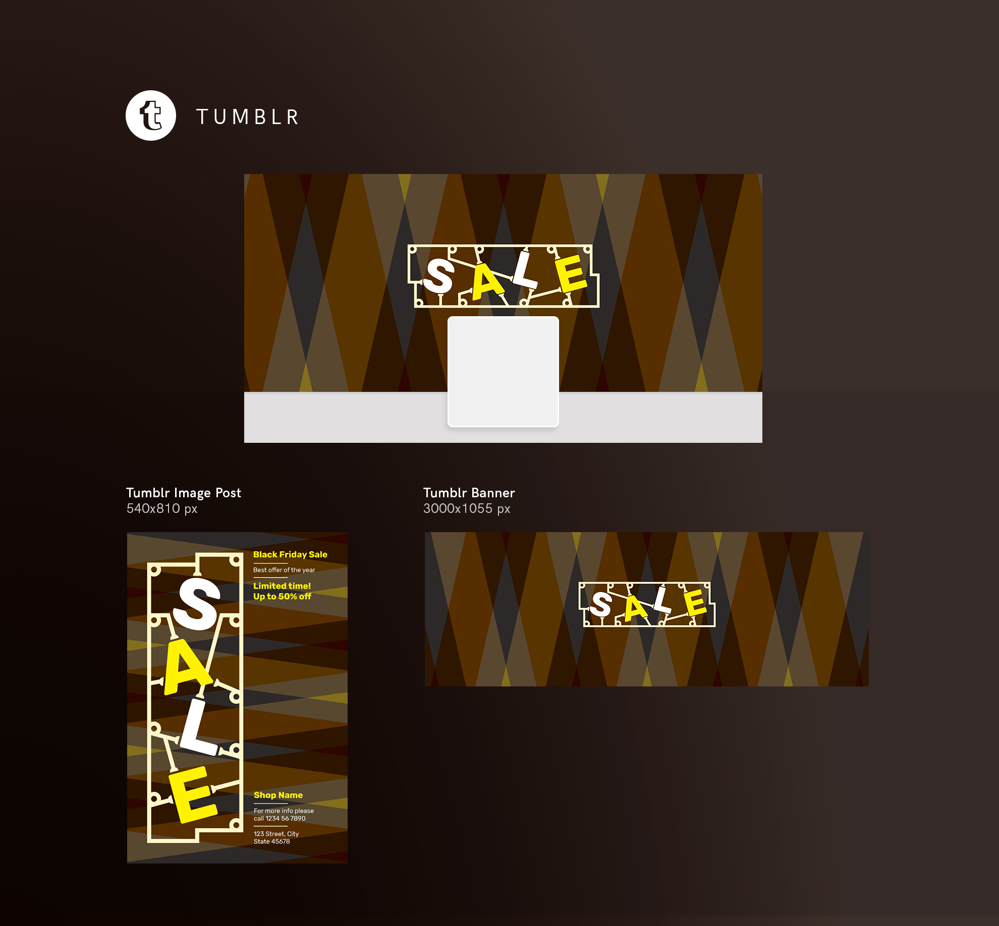 Black Friday Sale Design Templates Bundle example image 13