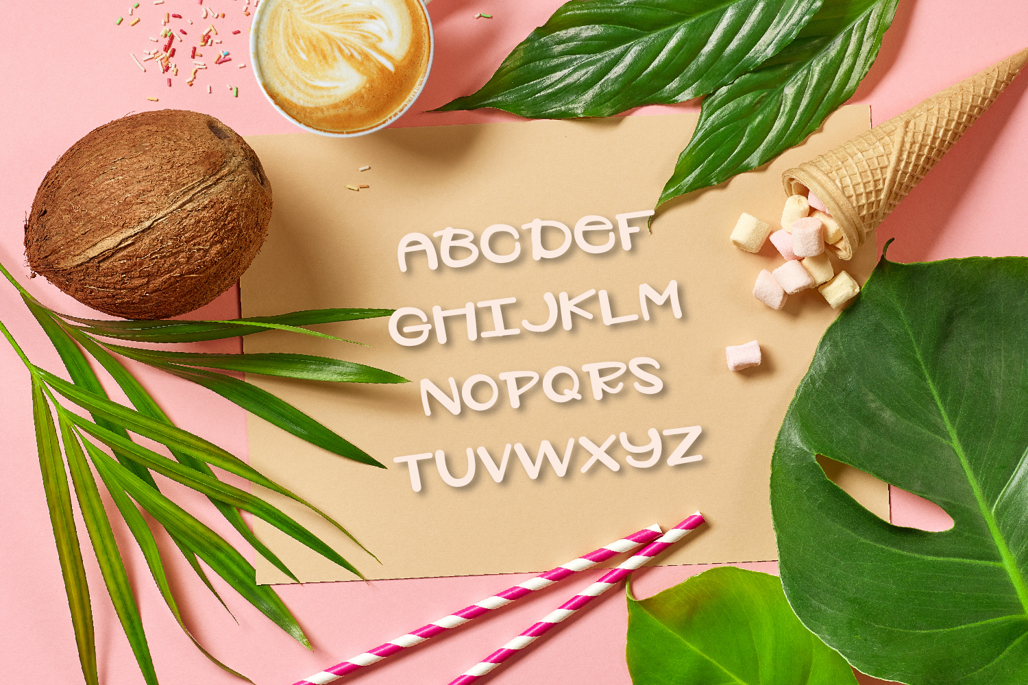 Plantelope - Outlined Font  example image 10