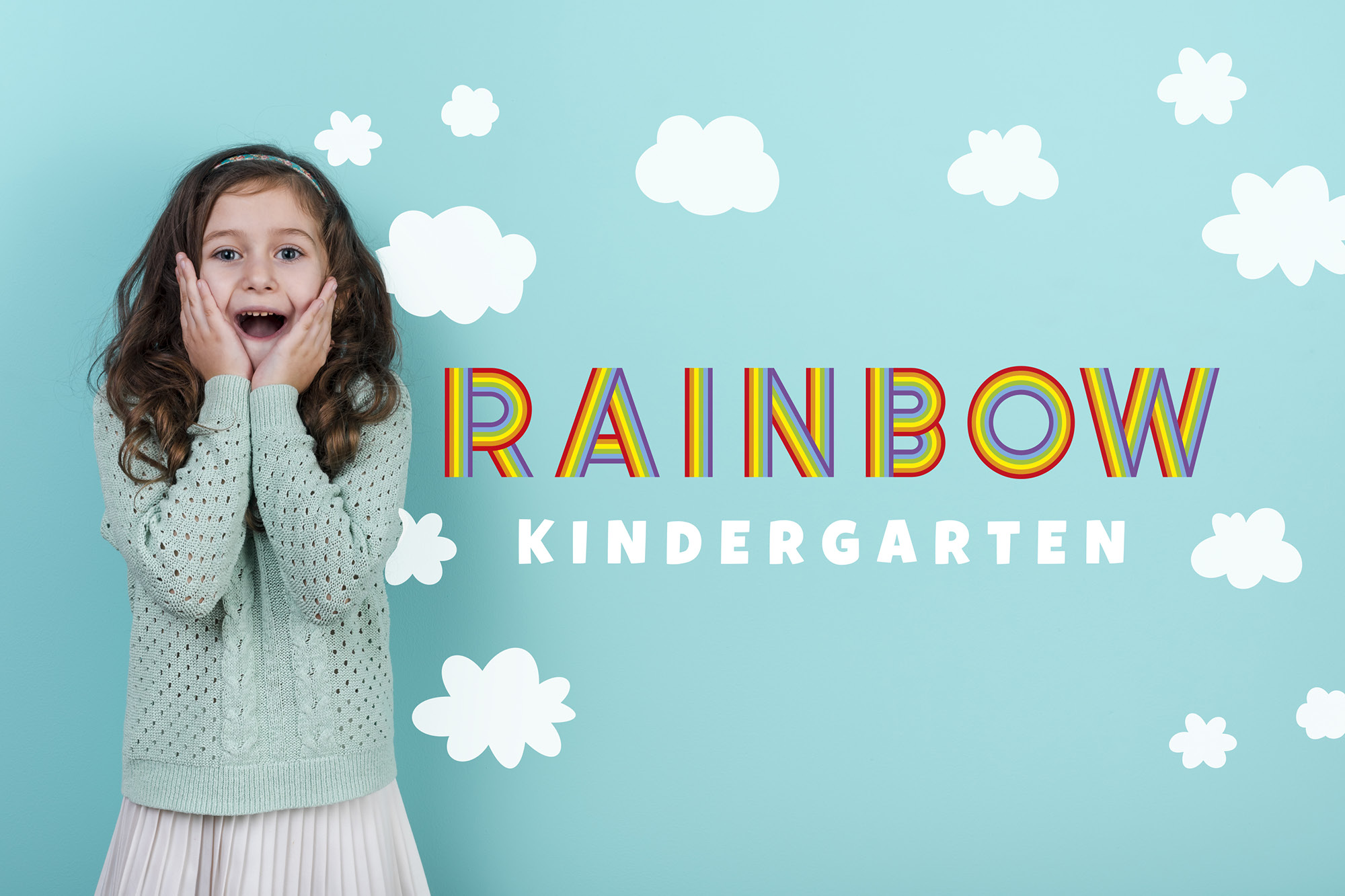 Rainbow Ryder EPS Font example image 6