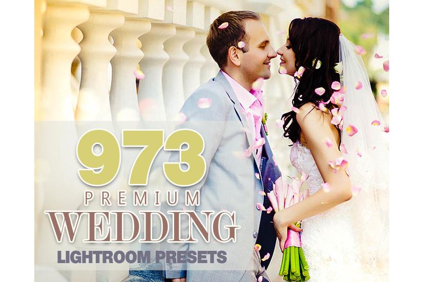973 Premium Wedding Lightroom Presets Collection (Presets for Lightroom 5,6,CC) example image 1