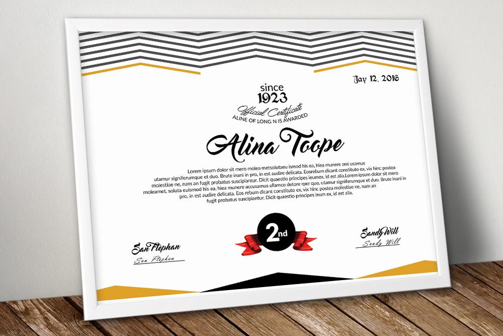10 Certificates & Diploma Bundle example image 10