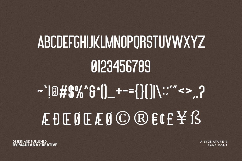 Dillandio - Font Duo example image 9