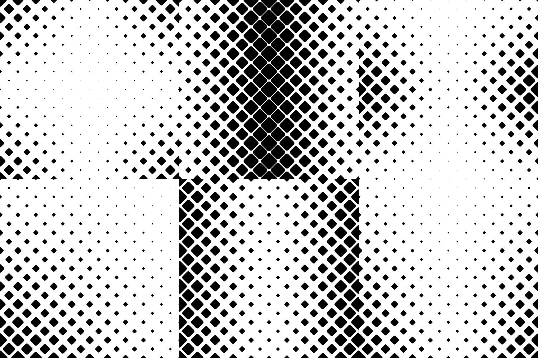 24 Square Patterns AI, EPS, JPG 5000x5000 example image 4