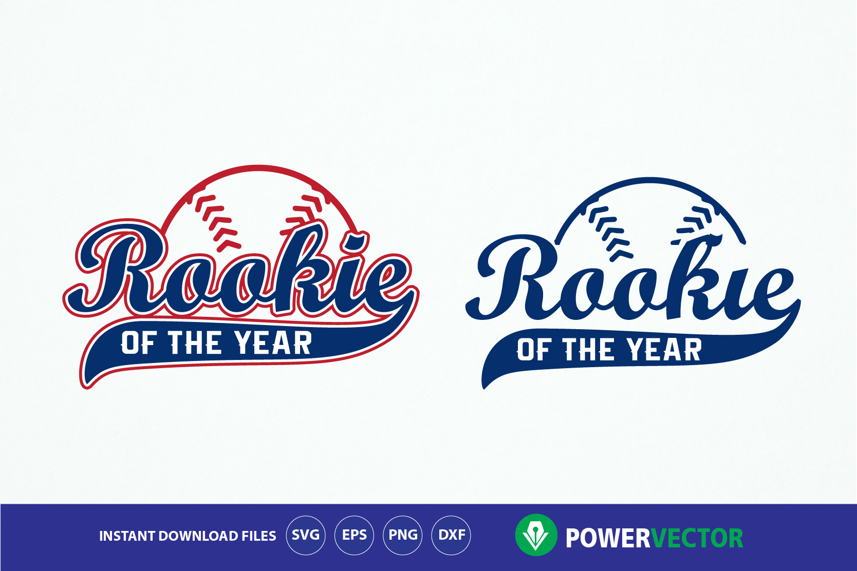 Rookie of the Year, Rookie baseball SVG, dxf, eps, png print and cut File for silhouette cameo and cricut example image 1