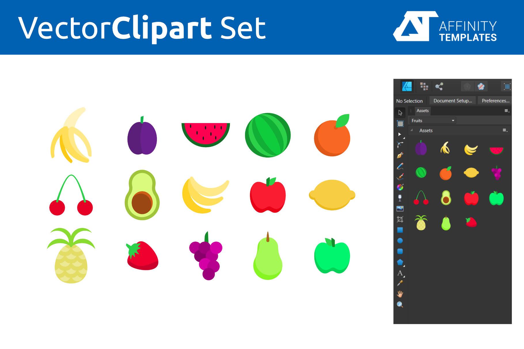 Affinity Designer Clip-atrs Bundle example image 6