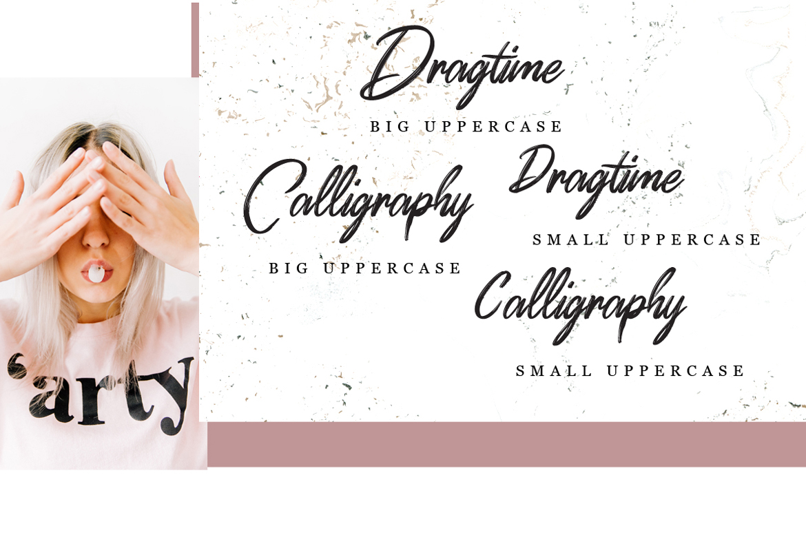 Dragtime - Handwritting Script Font example image 7