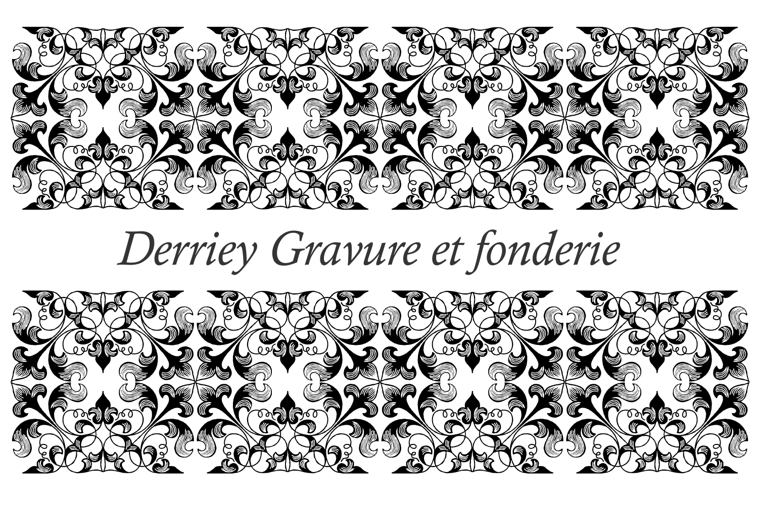 Derriey Vignettes Family Pack (5 fonts) example image 10