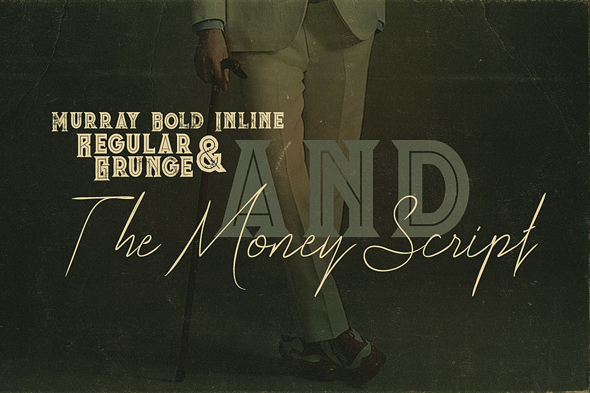 The Money Font Duo example image 2