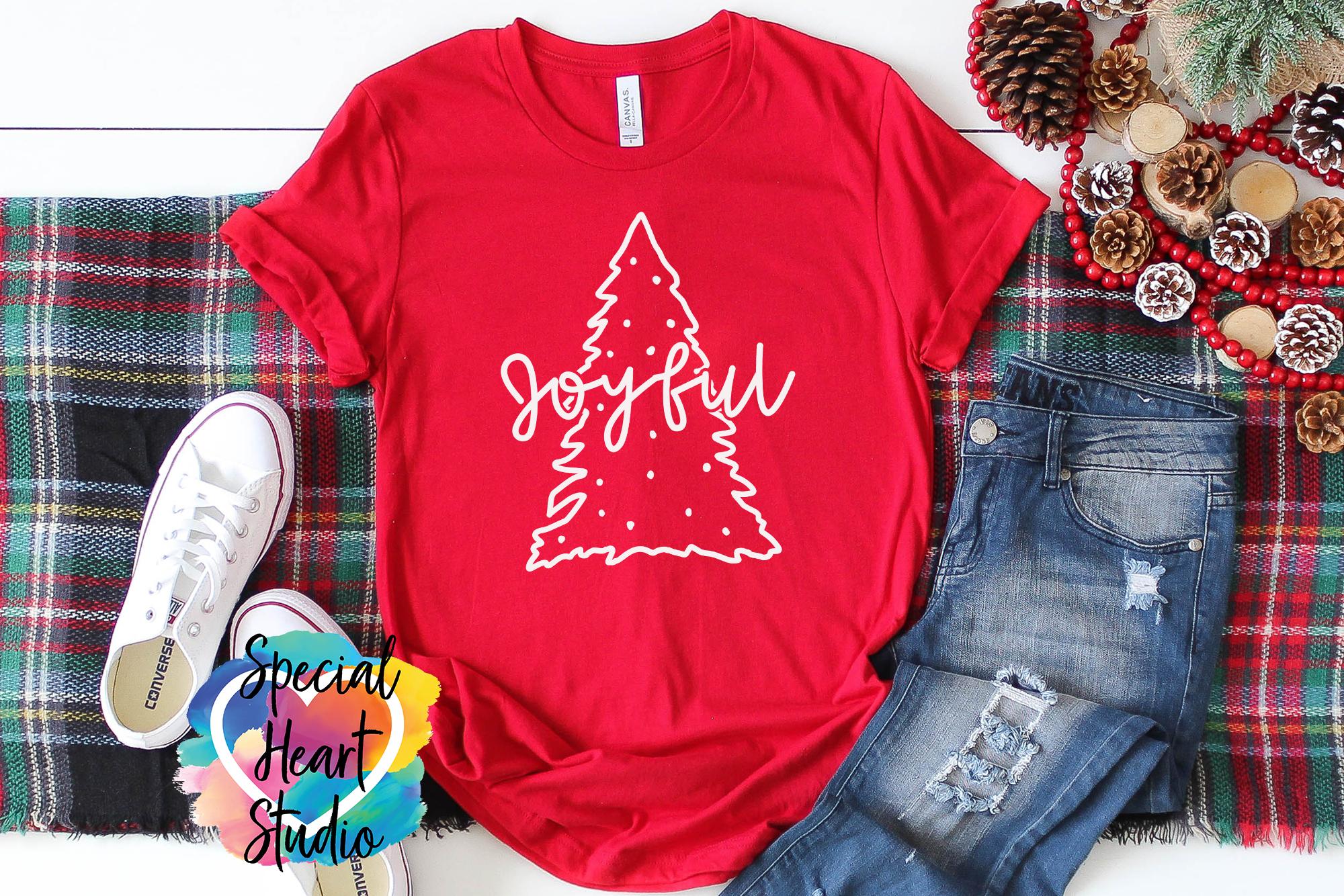 Christmas SVG Bundle - A Christmas Shirt SVG Cut File Bundle example image 2