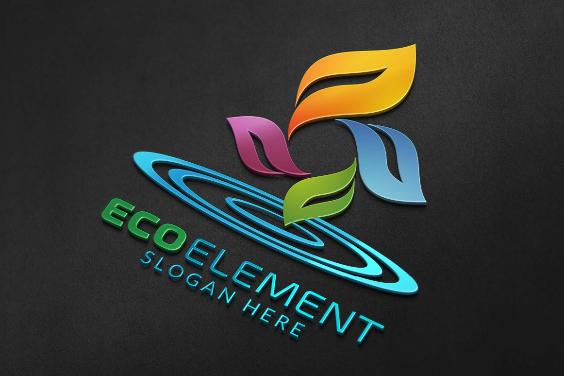 Infinity Green Element Ecology logo example image 3
