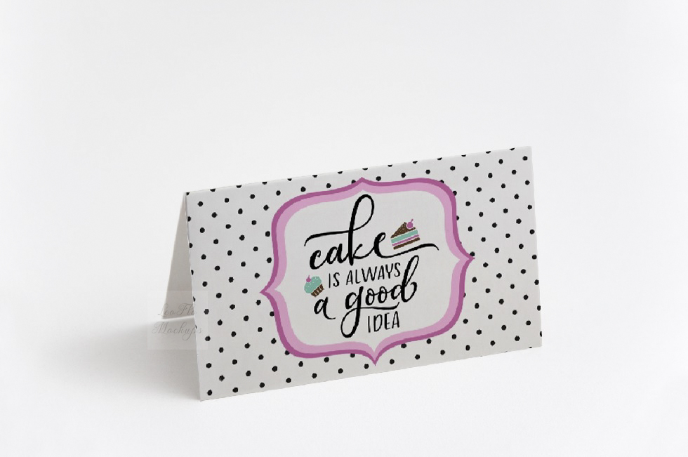 Blank food Card Mock up photo Table number guest tag mockup example image 2