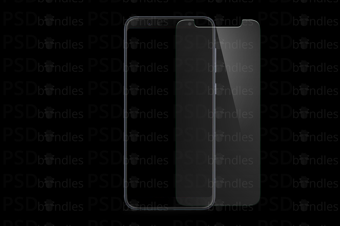 Asus Zenfone Max Pro M1 Tempered Glass Template example image 2