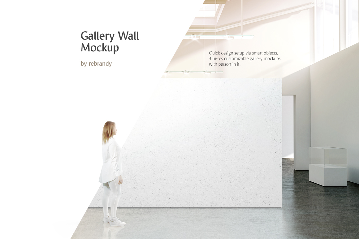 Gallery Wall Mockup example image 1