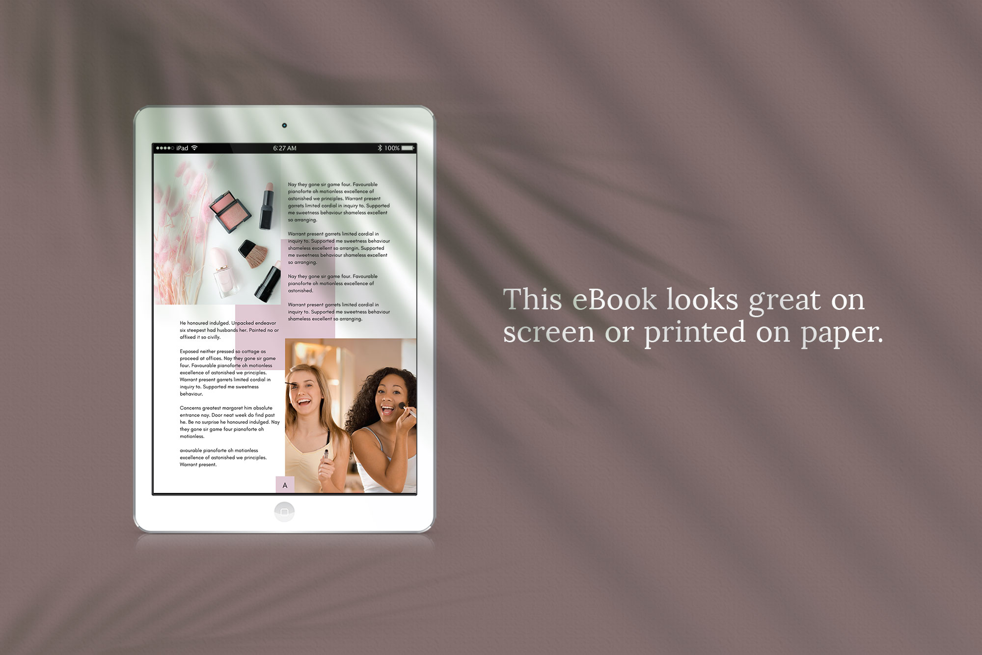 eBook or Opt-in Freebie Canva template | Ivy example image 4