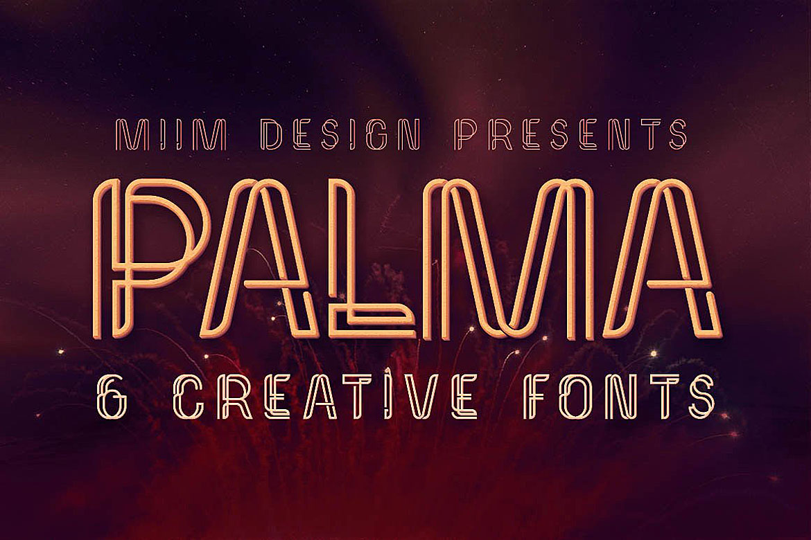 Palma - Display Font example image 1