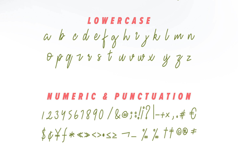 Fresh Berries - Script & Sans Font example image 11