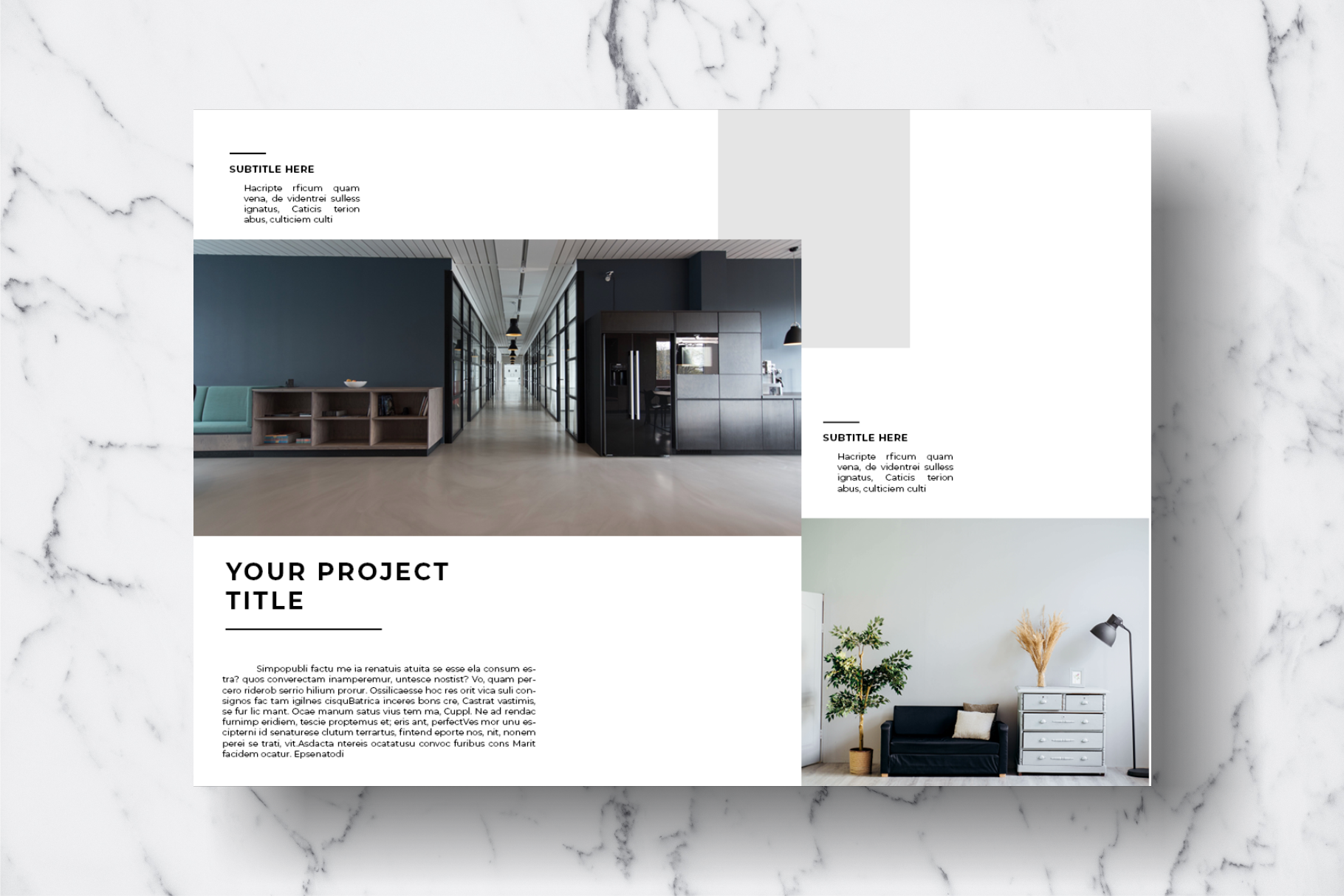Magazine Template Vol. 11 example image 11