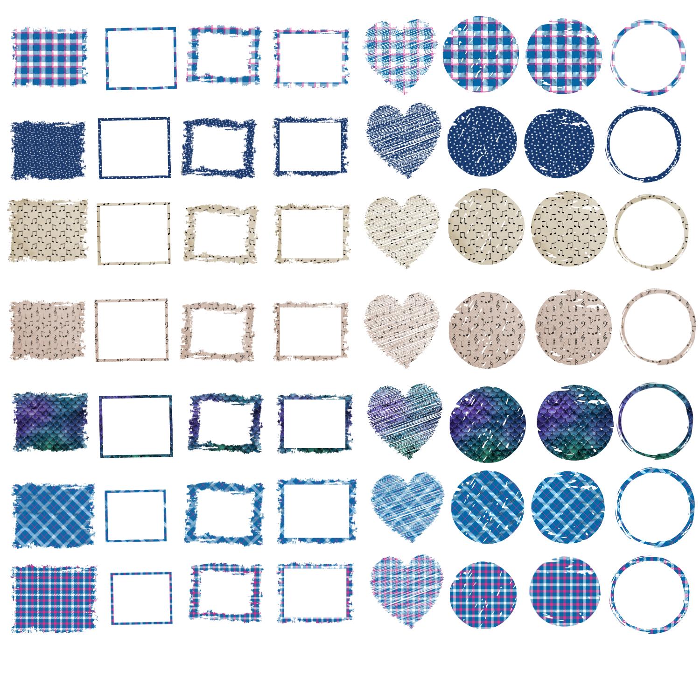 Backsplash Frames Bundle for Sublimation - 728 PNG Designs example image 8