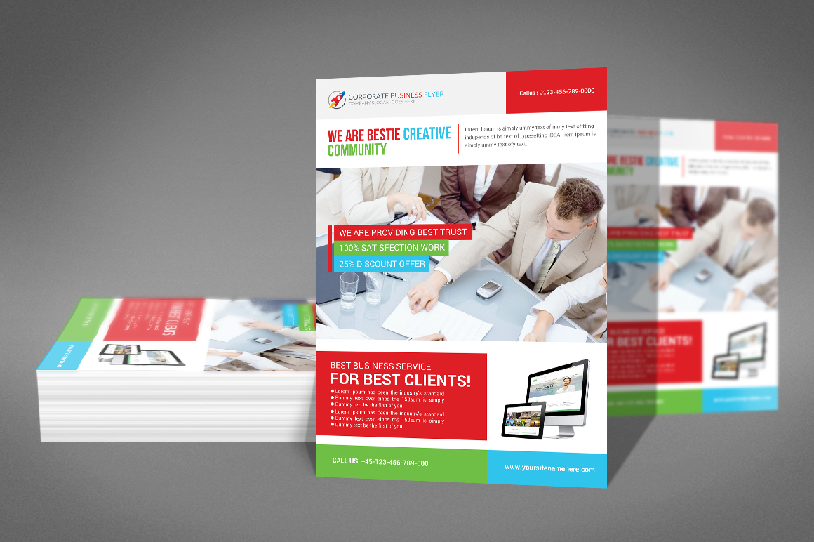 Professional Business Flyer example image 2