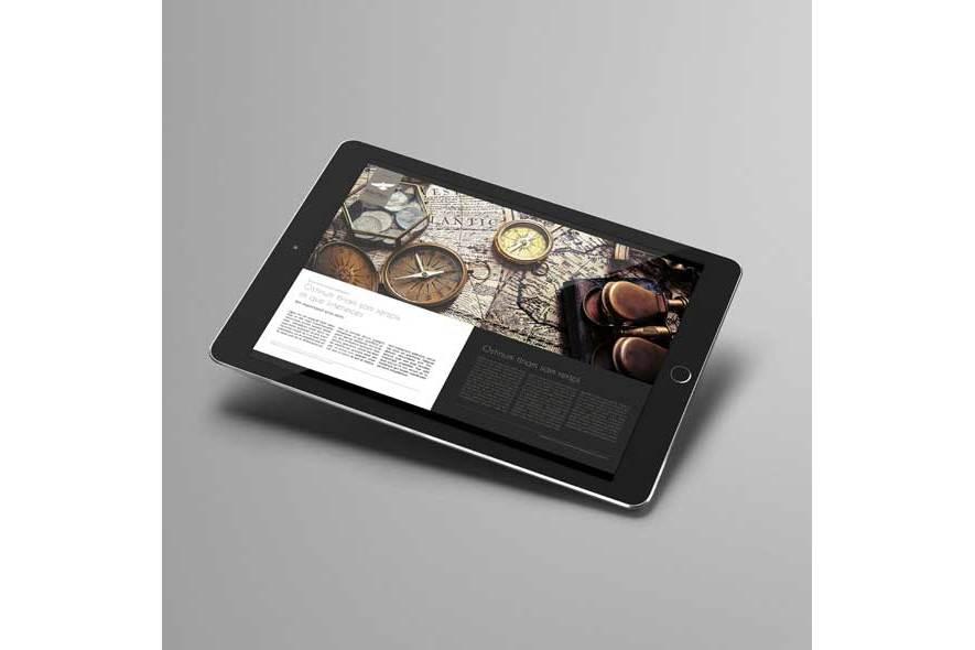 Digital Corporate Magazine Template example image 4