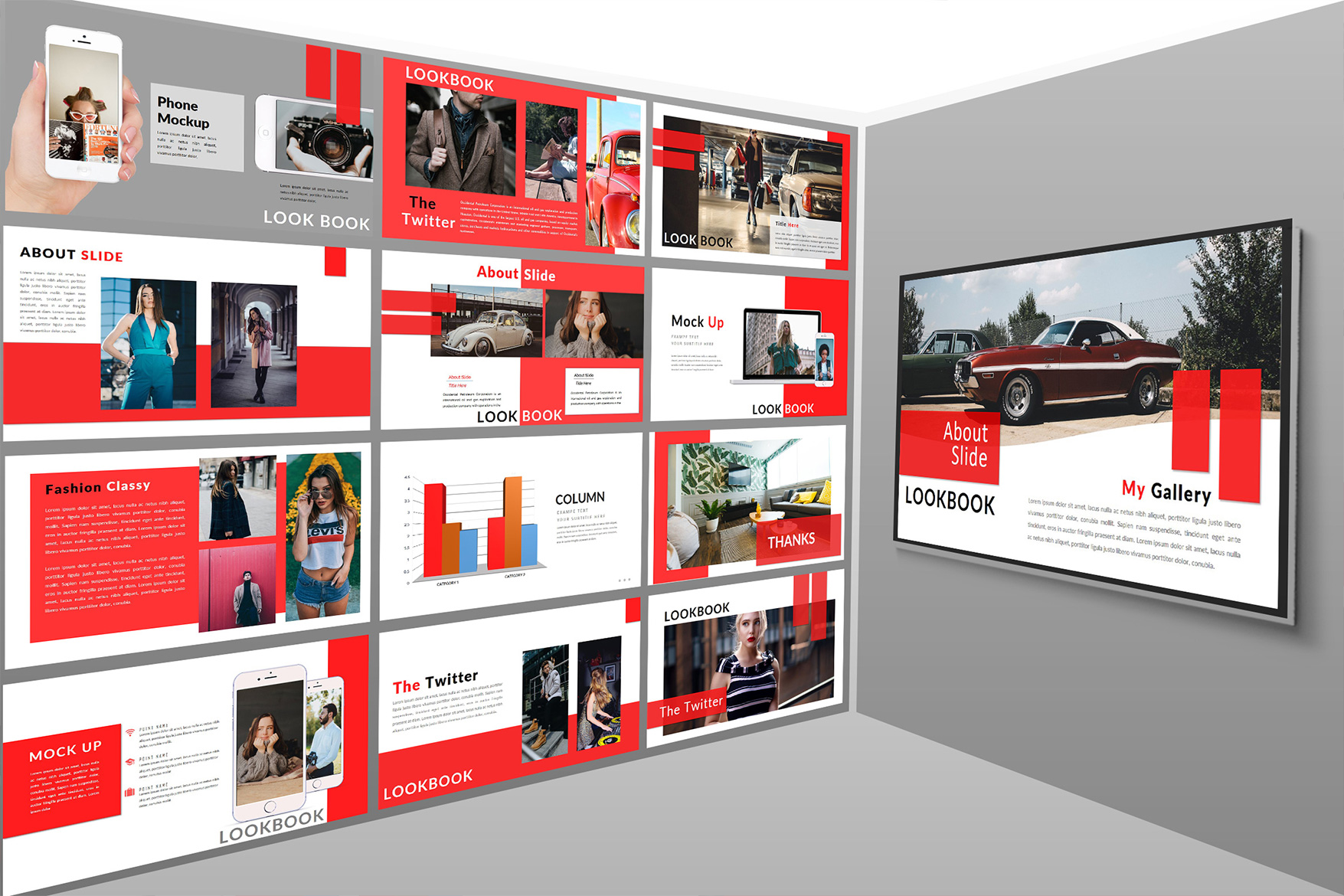 The Twitter Lookbook - Powerpoint example image 3