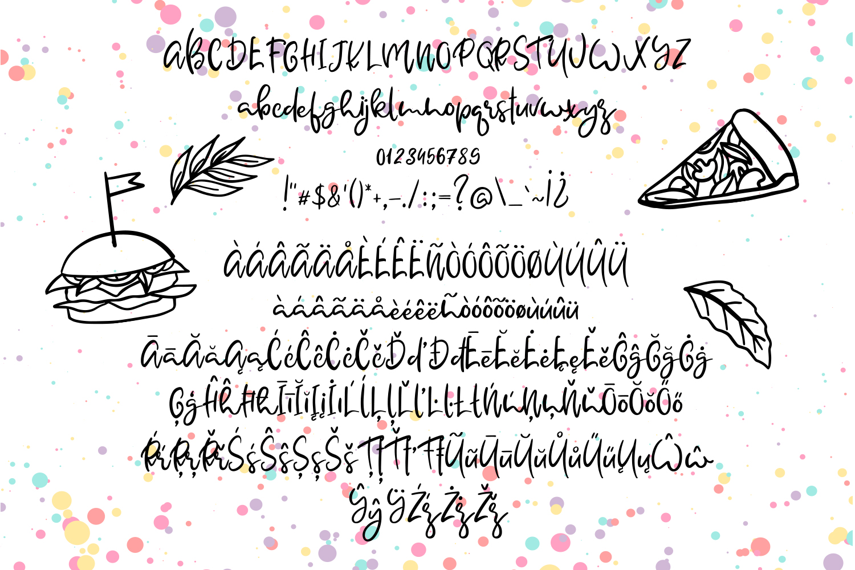 Yokumtown Script Font & Doodles example image 4