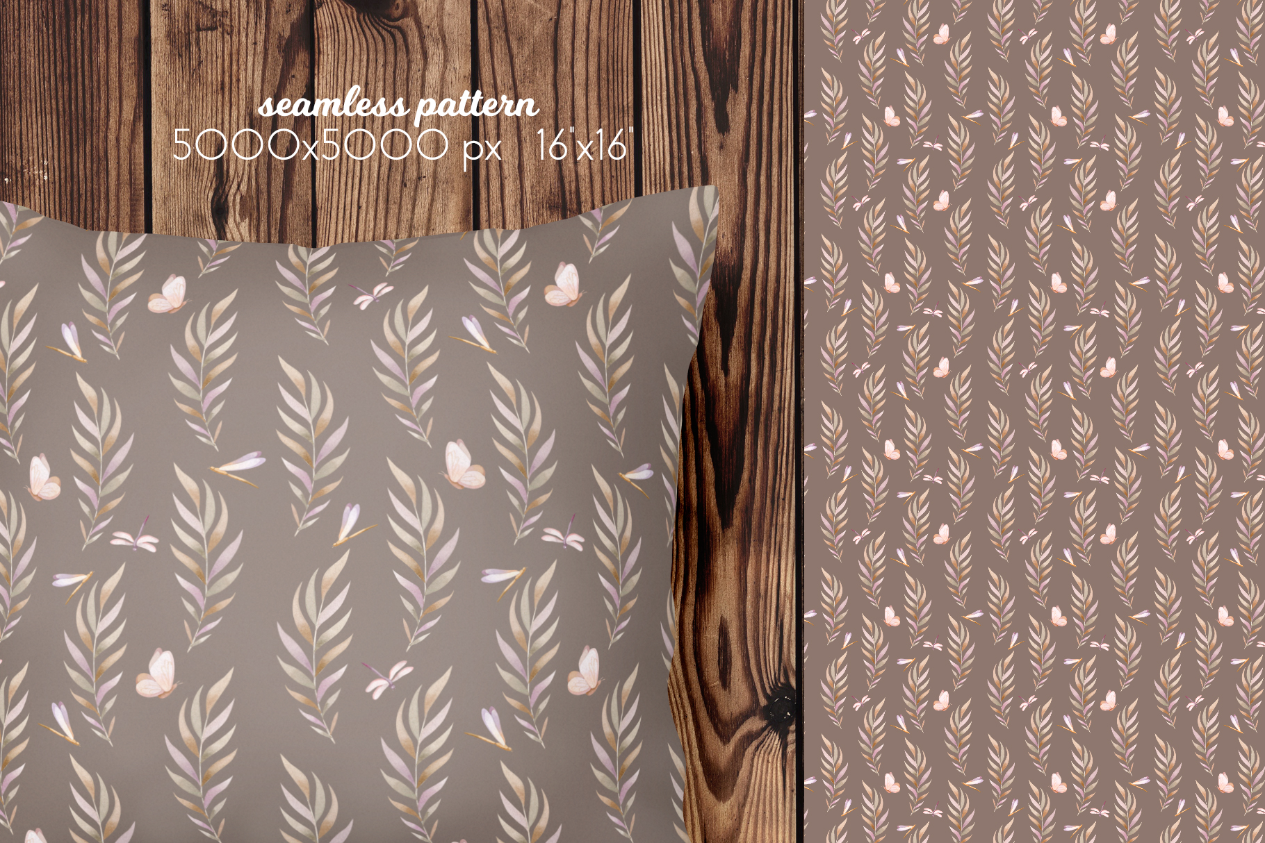 Butterflies and Dragonflies Patterns Collection example image 14