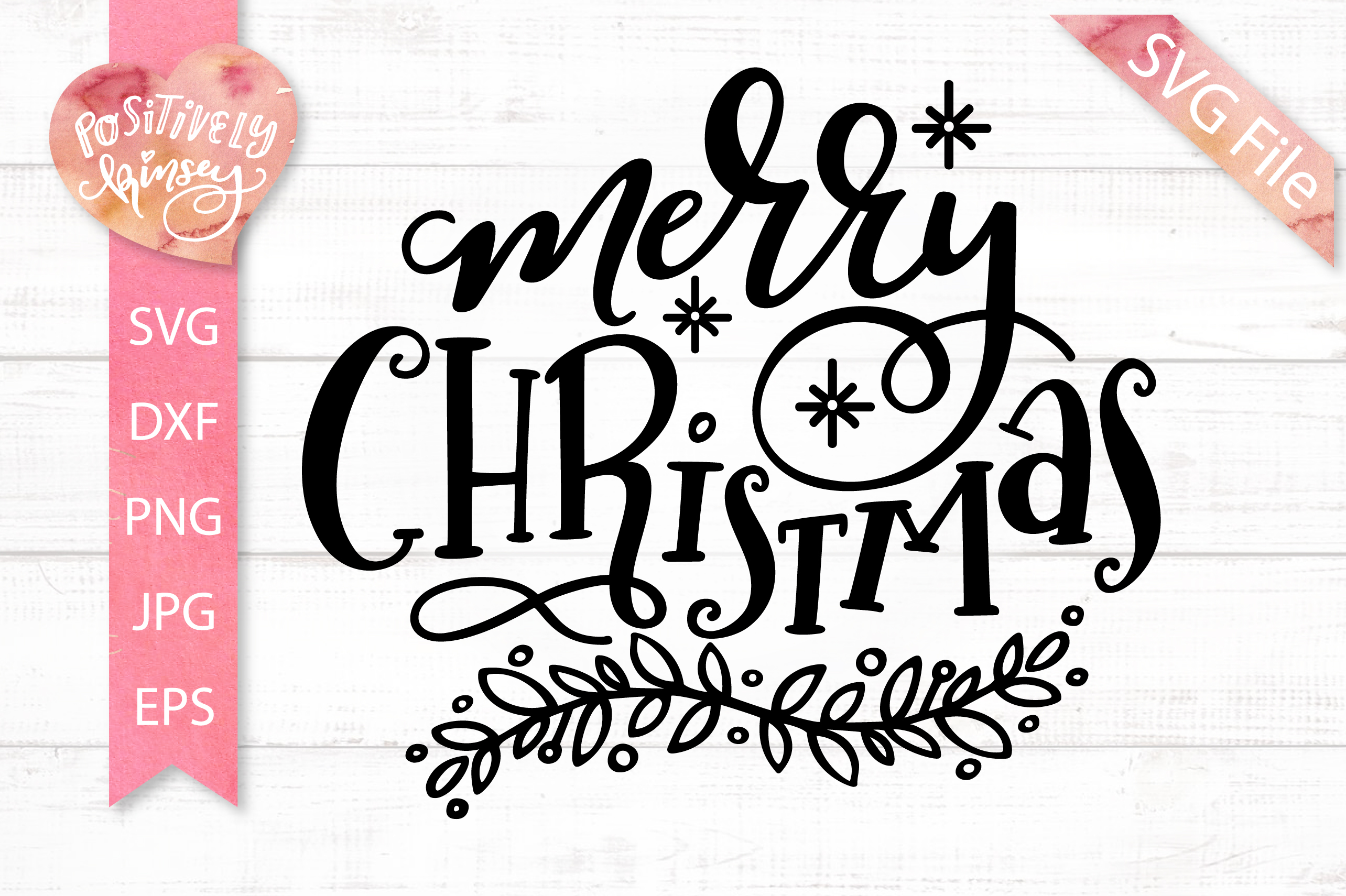 Merry Christmas SVG DXF PNG EPS Christmas Quote Svg Design example image 2