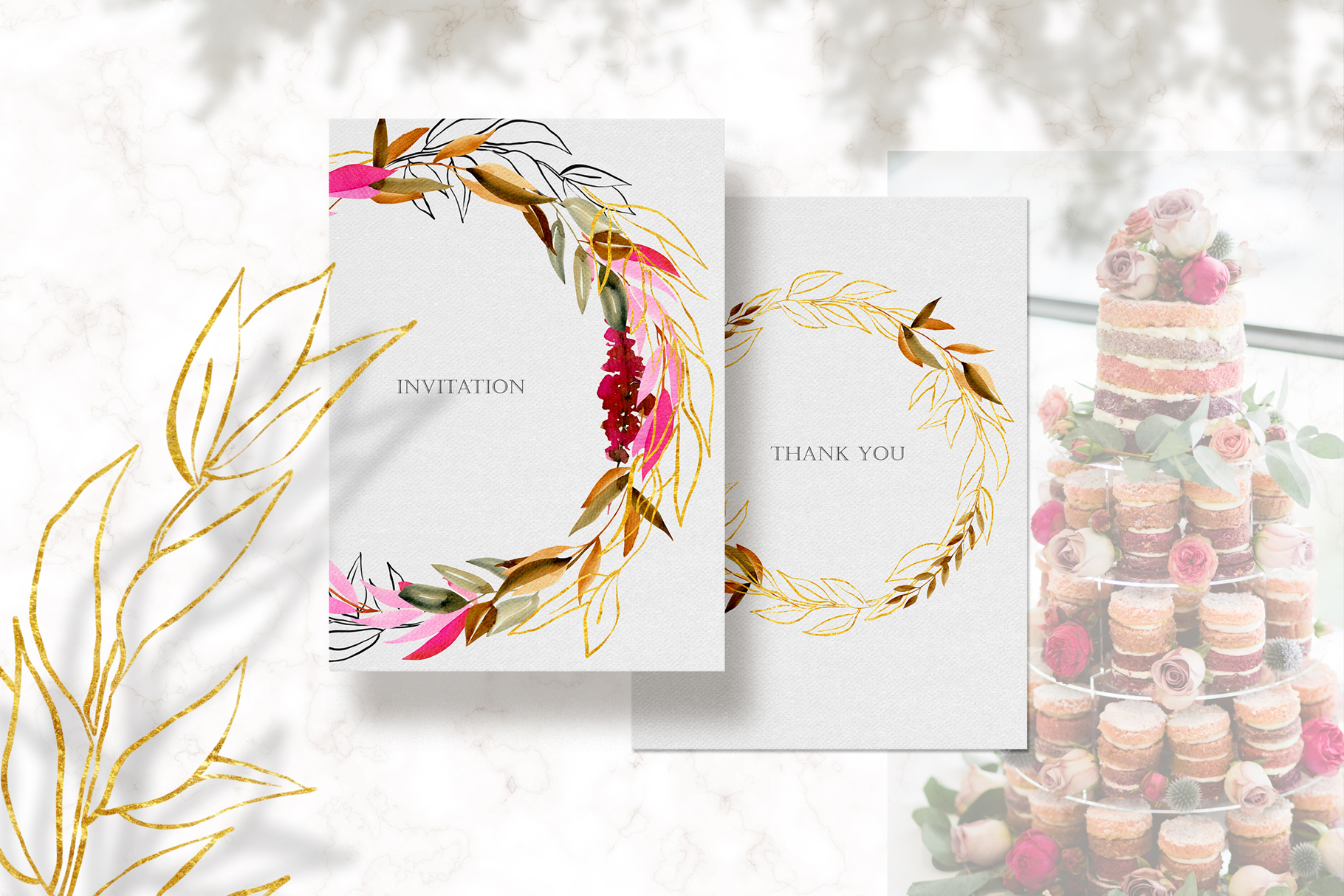 Crimson and Gold collection example image 9