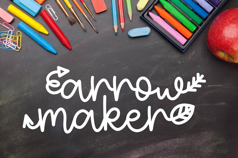 FB - Arrow Maker - Make fun arrow scripts example image 1