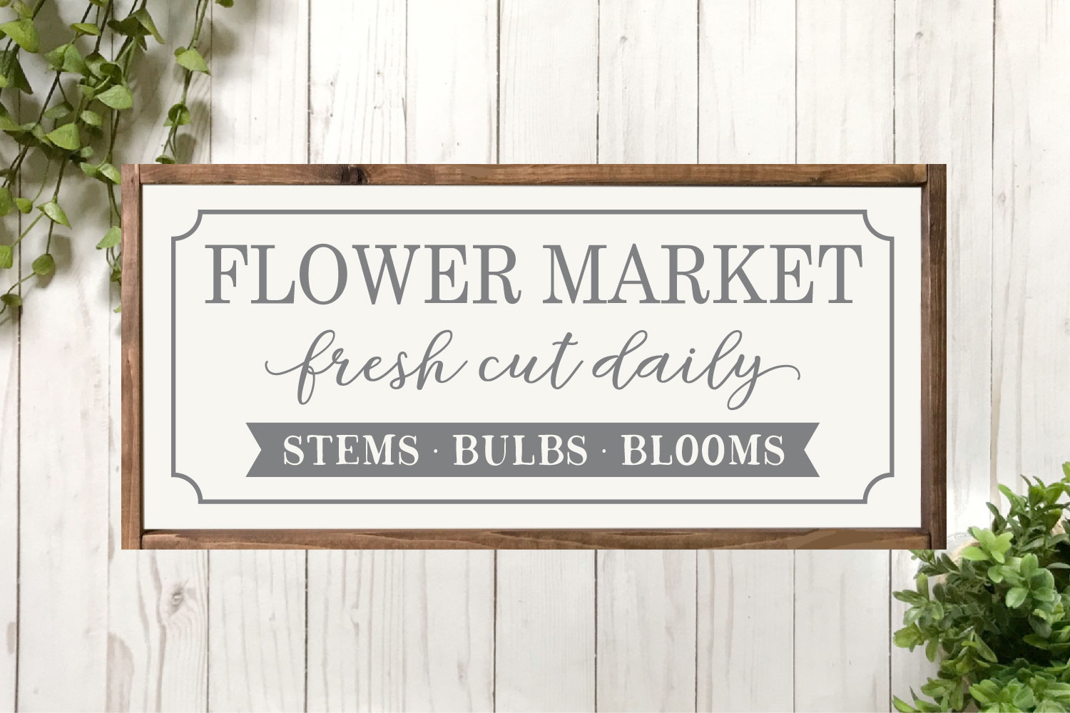 Spring SVG Bundle - Cut Files for Signs example image 15