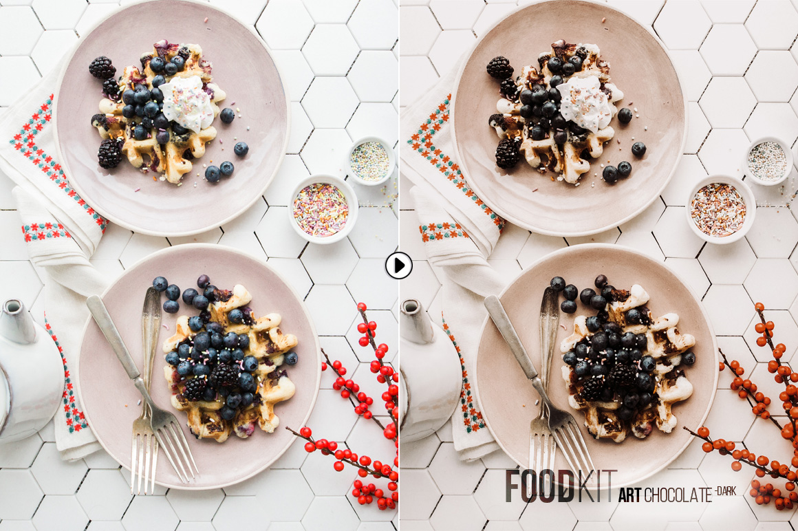 FoodKit - Food Presets for Lightroom & ACR, Desktop & Mobile example image 9